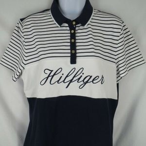 Tommy Hilfiger Womens Size XL Spell Out Shirt